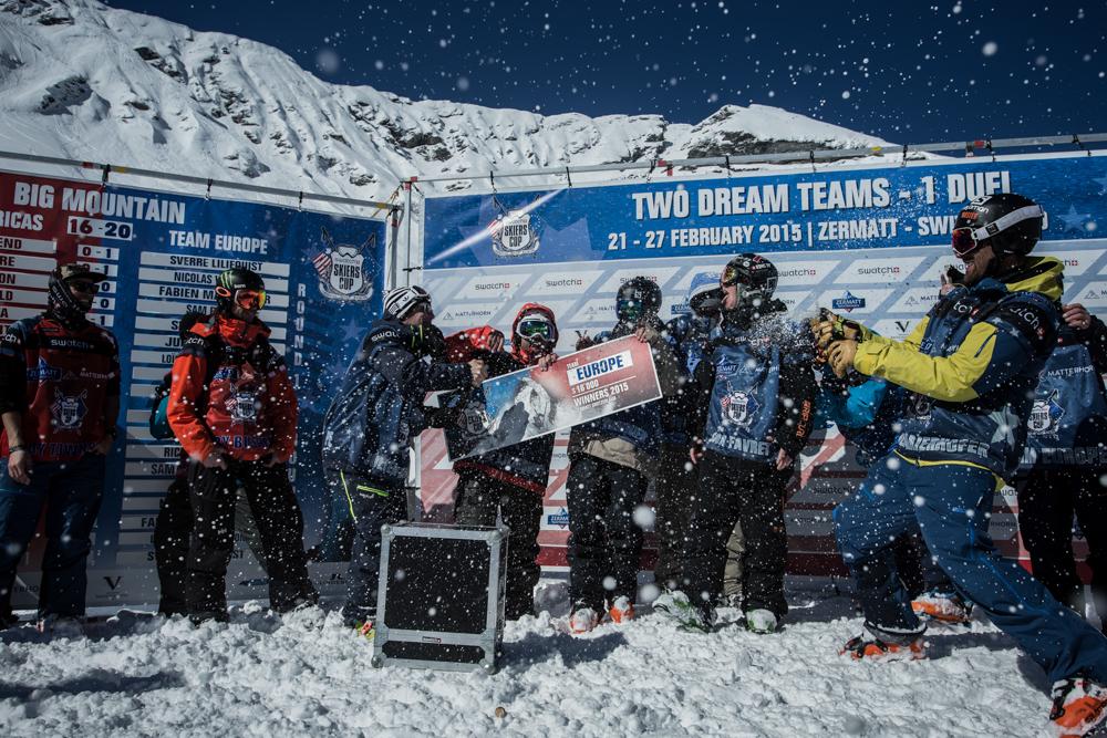 Team Europe Gewinnt Swatch Skiers Cup 2015