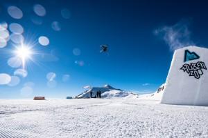 Perfekte Trainingsbedingungen für Pros und Hobby Jibber herrschen am Stubaier Gletscher