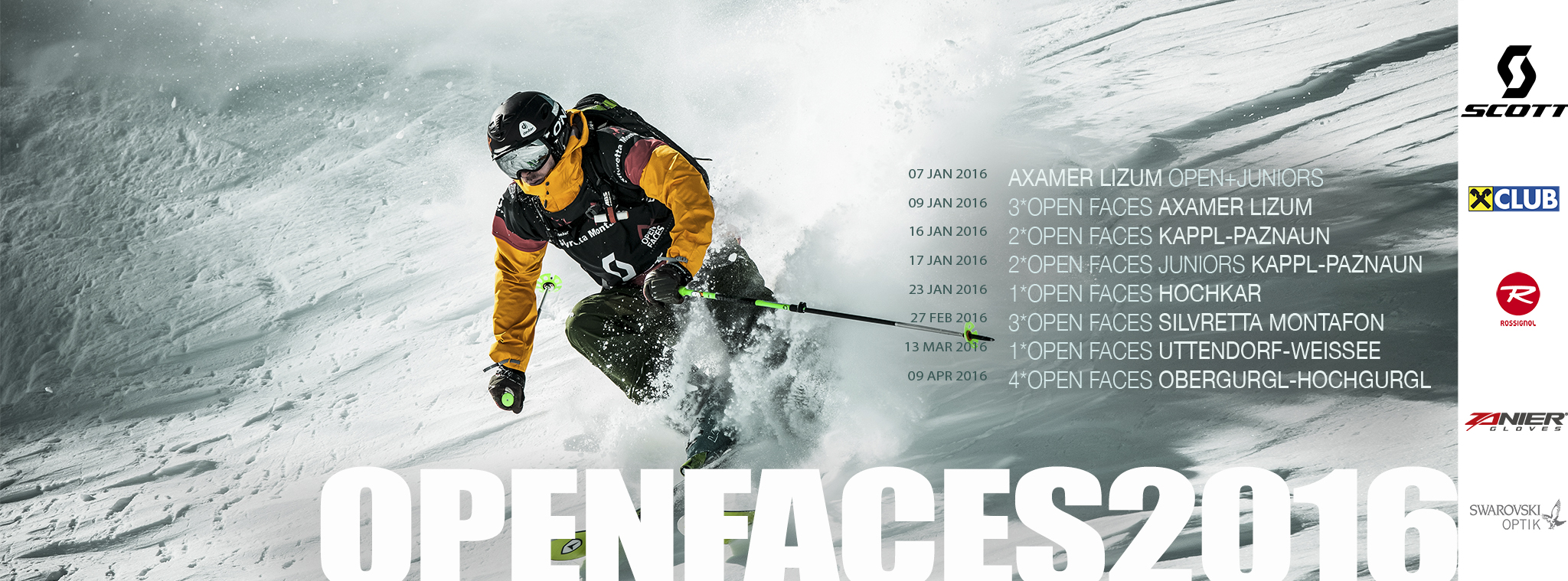 OPEN FACES FREERIDE CONTESTS – Erfolgsstory geht weiter