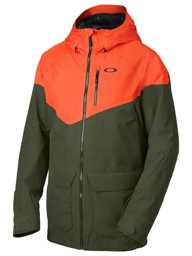 Badlands Goretex Biozone DownJacket_flare orange