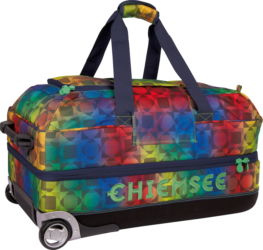 CHIEMSEE Premium Travelbag Large blue yellow red#179,95EUR