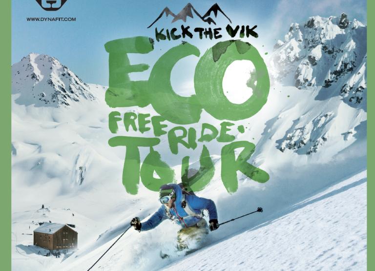 Kick The Vik Eco Freeride Tour // Der Winter wird heiss