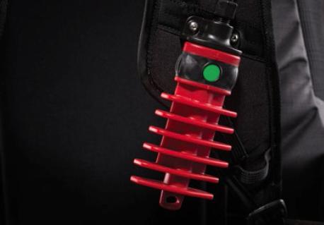 Mechanische Entriegelung und Auslöser – immer zugänglich und bestens zu Greifen und Festzuhalten