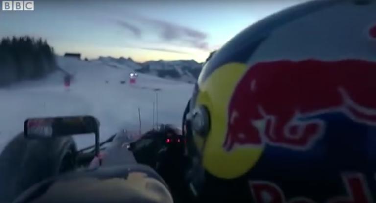 HAHNENKAMM // F1 Snow Demo von Red Bull