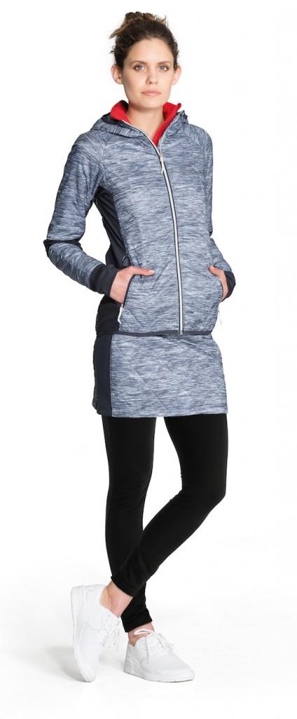 FW16_Helix LS Zip Hood & Helix Skirt