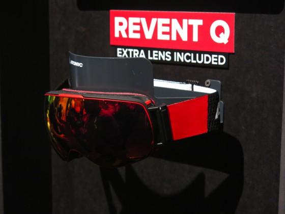 Neue Goggles? Bitteschön... die Revent Q mit sphärischen Linsen