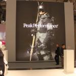 Schon von Außen war klar, dass man auf dem PEAK Booth nicht enttäuscht werden würde, was die neue Kollektion angeing.