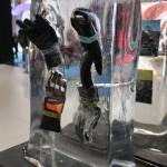 Alljährlich sehr beliebt auf der Ispo: Produkte einfrieren und über die Messer lang auftauen lassen!