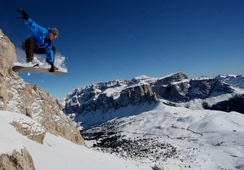 Foto: Andi Prielmaier – Location: Sella Gruppe/Dolomiten - Rider: Ingolf Schmitt
