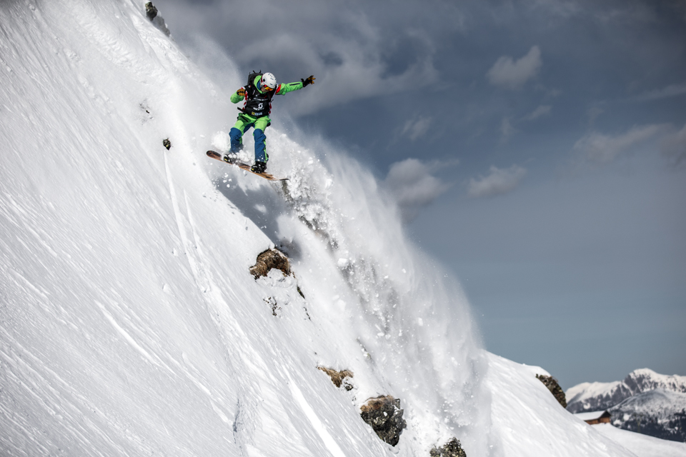 Zweitplatzierter Snowboard Men - Marcel Loschin. // Foto Credit: OpenFaces/SilvrettaMontafon/Andreas Vigl