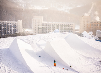 Slopestyle Course Winter Olympics 2018 (Foto by Luca Tribondeau)