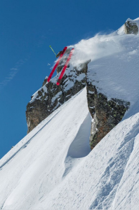 Fabio Studer's Flat 3 in Chamonix