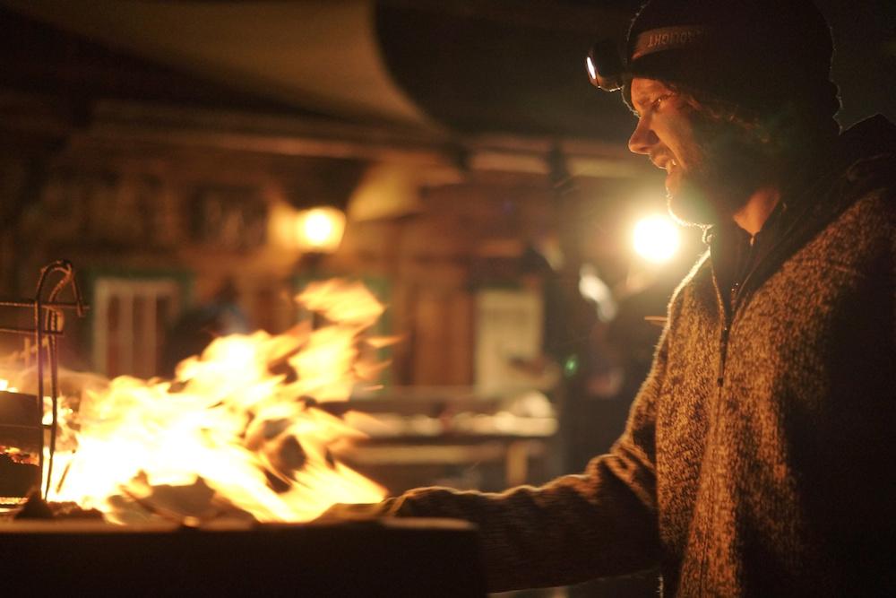 Juergen Asado BBQ time
