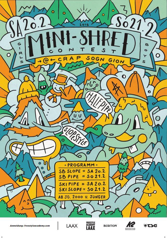 Mini Shred Contest LAAX 2016