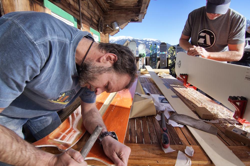 Patrick and Conrad workshop