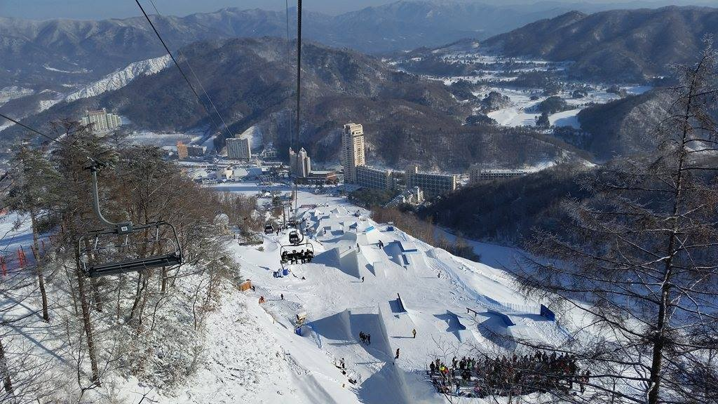 Funpark in PyeongChang