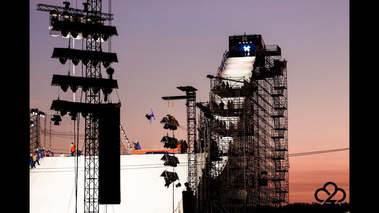 X Games Oslo – Big Air Practice