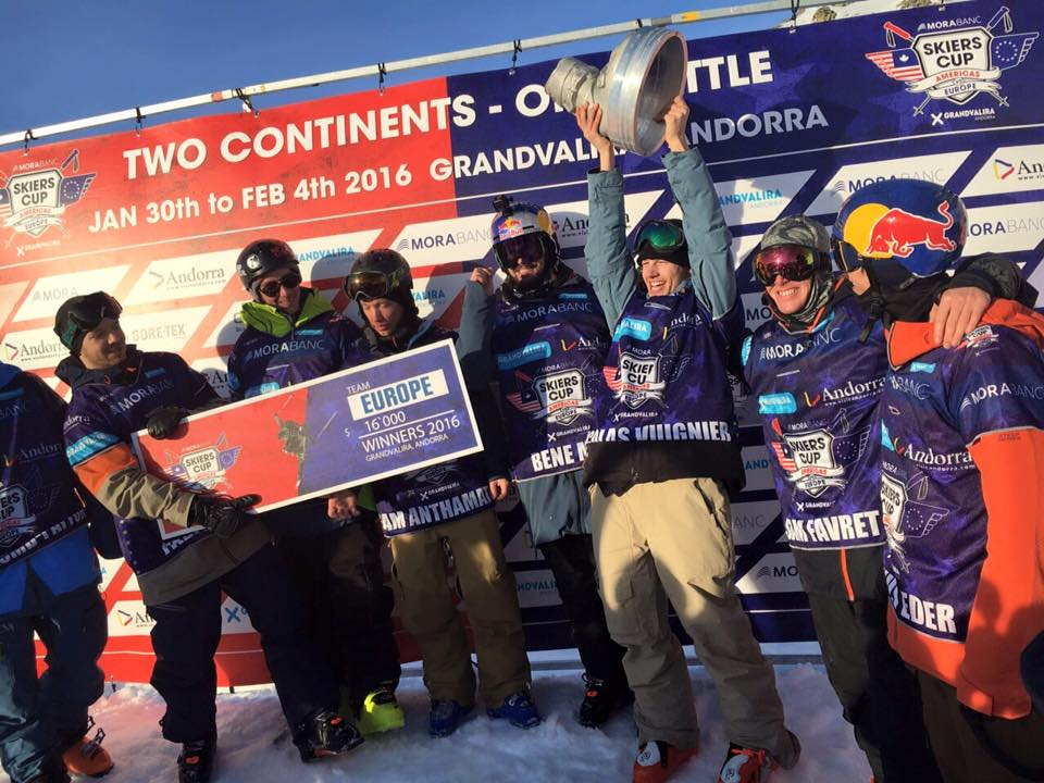 SKIERS CUP - EUROPE WINS!!!