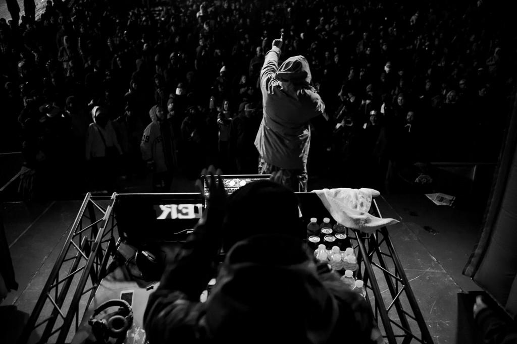 Letztes Jahr heizte Masta Killa der Crowd ein.