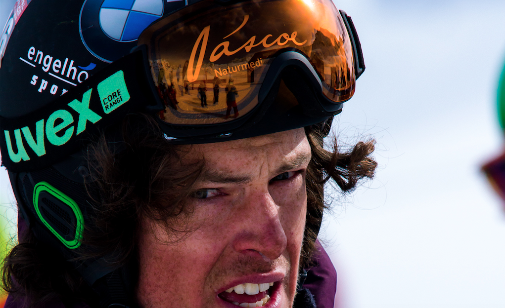 Der Pitztal WIld Face ist anstrengend - offensichtlich! (© Richard Bos / Dope Hammer )
