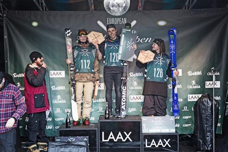 Sildaru und Kenworthy gewinnen die Titel der European Freeski Open Laax 2016