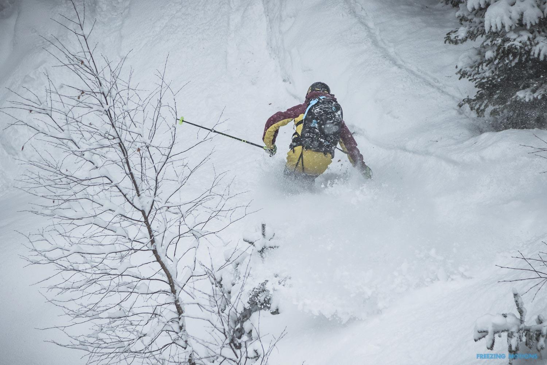 Pow Runs - Rider: Andi Valentin - Foto: Klaus Listl