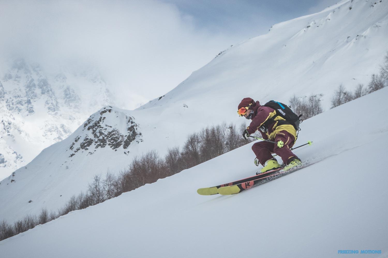 Pow Run mit Aussicht – Rider: Andi Valentin – Foto: Klaus Listl