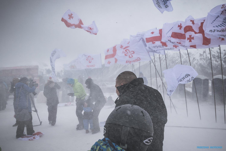 Einweihung des neuen Skigebietes ... - Foto: Klaus Listl