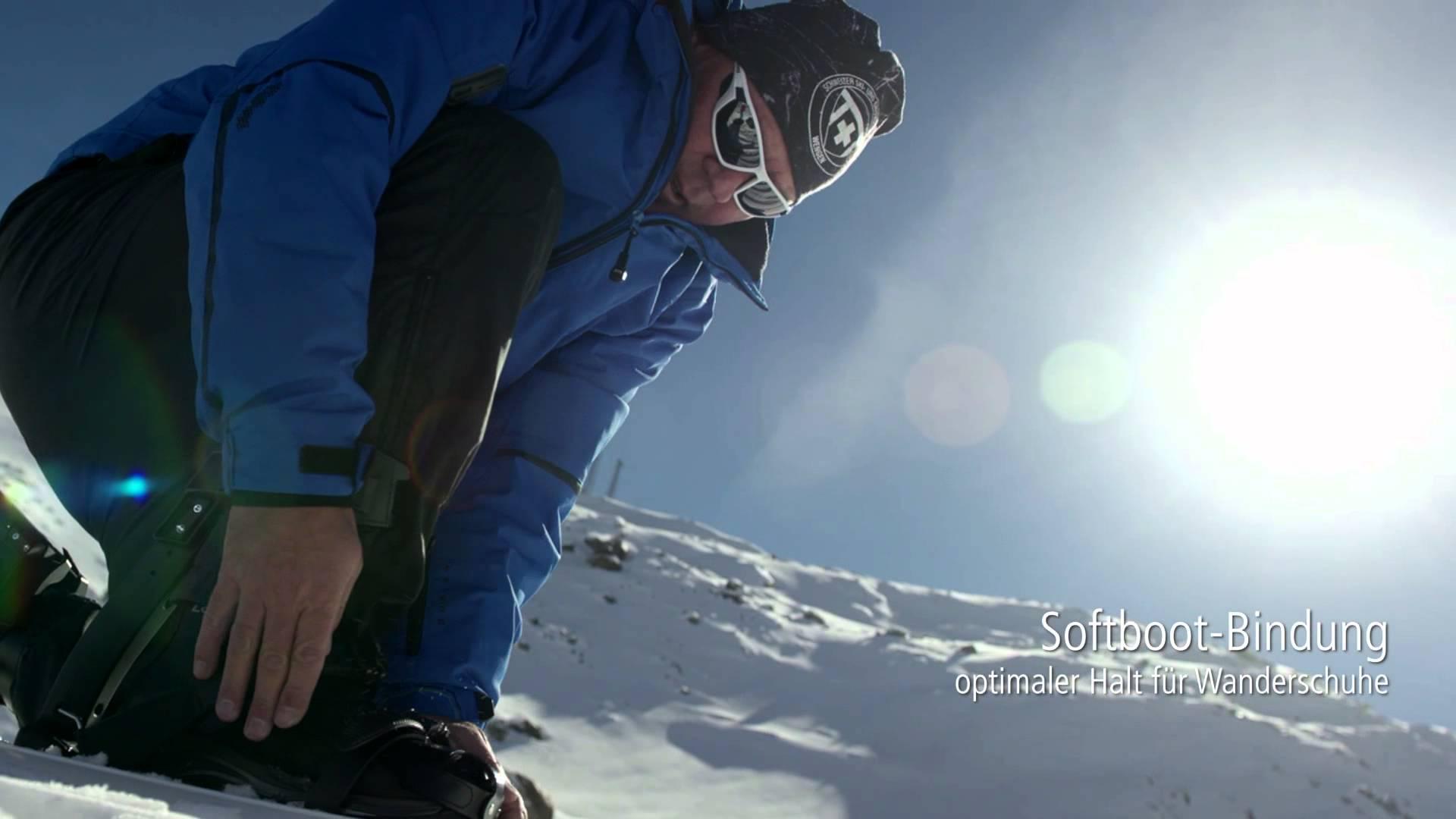 Ein Traum wird wahr: Touring Snowblades