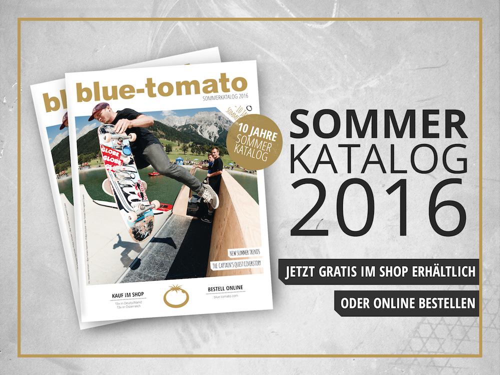 Der neue Blue Tomato Sommerkatalog 2016 ist da! | Prime Skiing