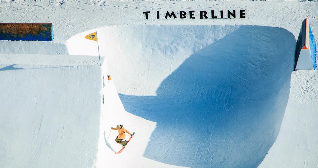 Im TImberline Ski Resort finden isch einige der besten Snowparks weltweit. Der perfekte Spot also für die WCS10...