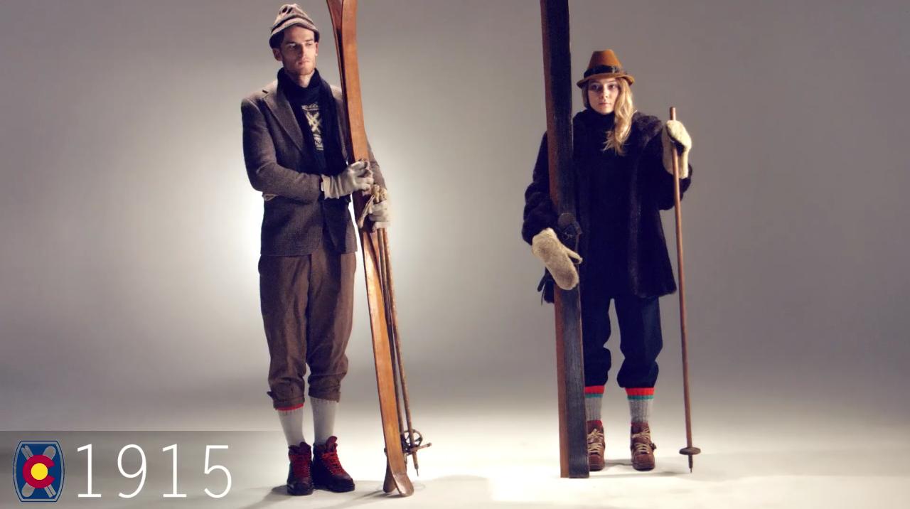 Ski Fashion 1915