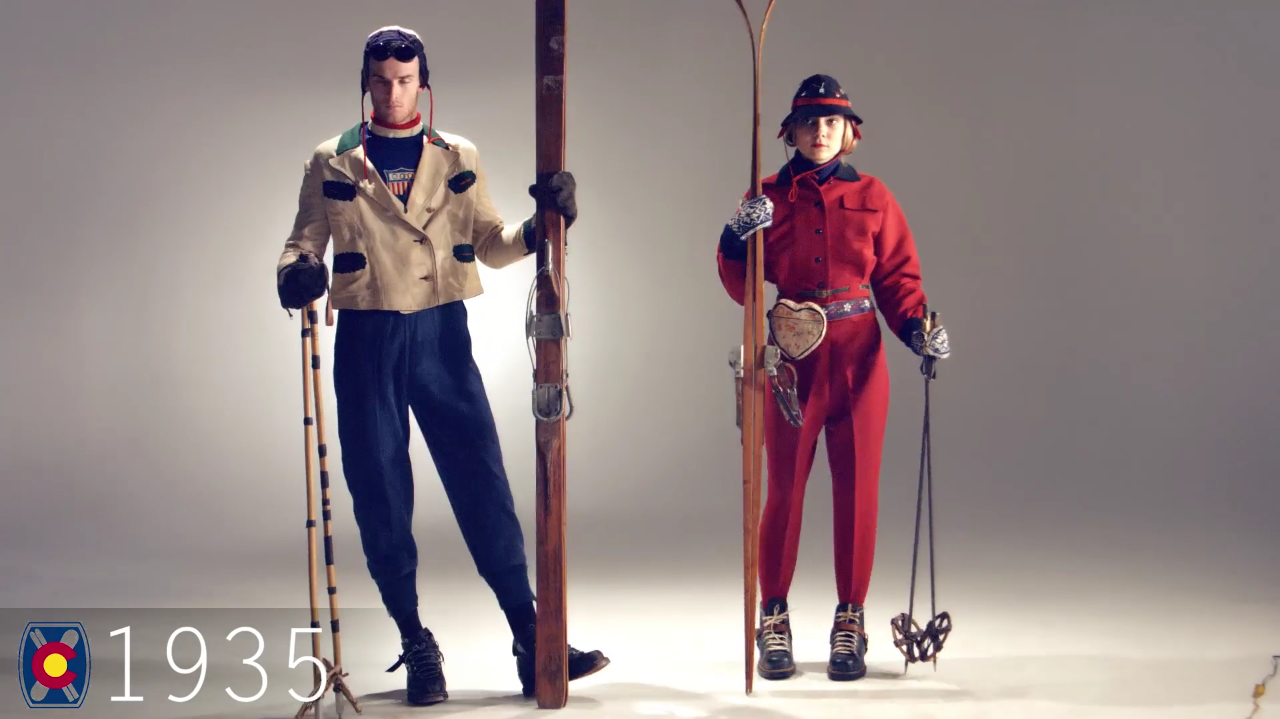 Ski Fashion 1935