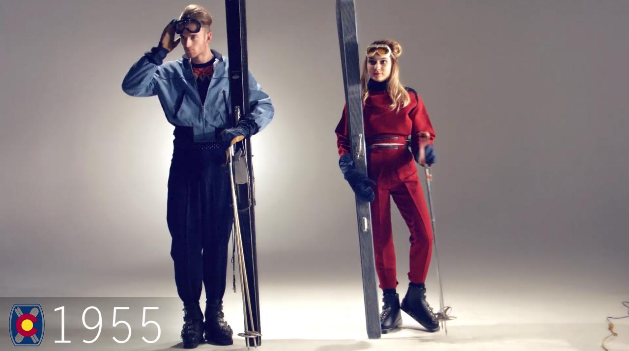 Ski Fashion 1955