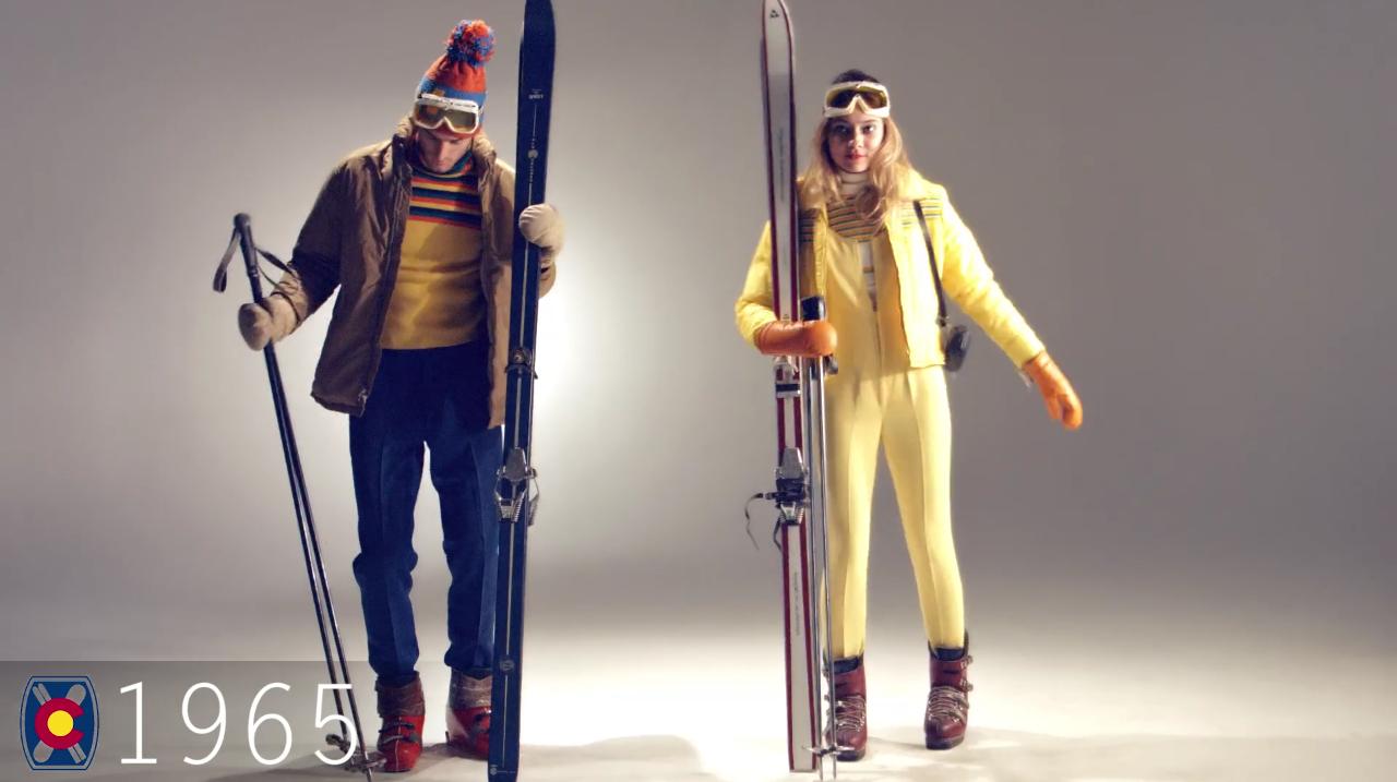 Ski Fashion 1965