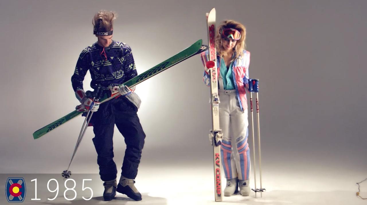 Ski Fashion 1985