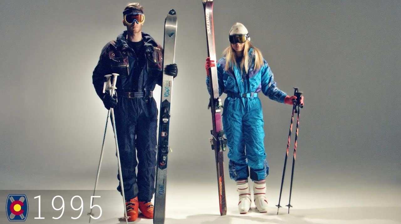 Ski Fashion 1995