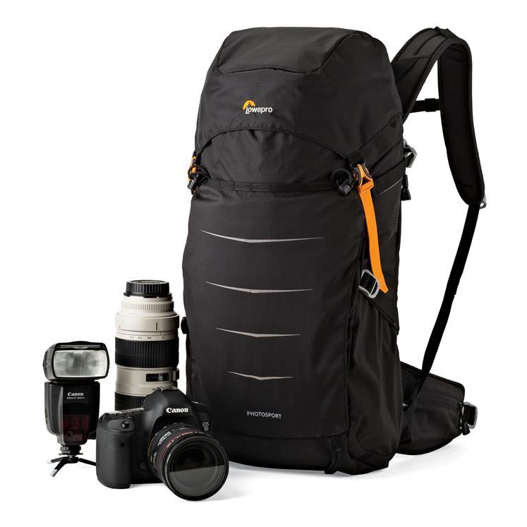So muss ein Fotorucksack aussehen - schlciht und funktionell: Photo Sport BP 300 AW II