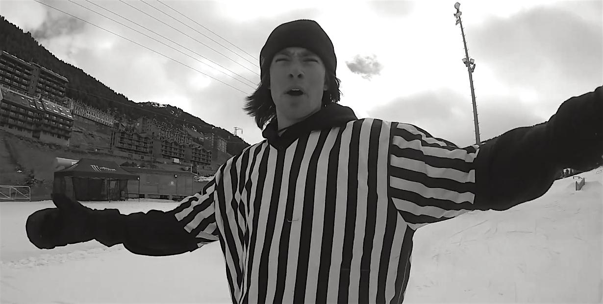 A-HALL reffin' beim SLVSH Cup in Andorra.