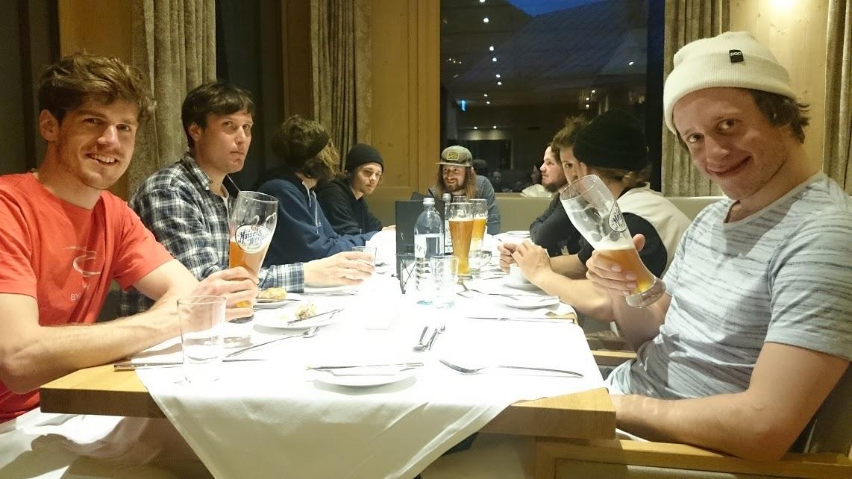 Die Dinner-Abende im Hotel waren echte Highlights. Ein Dank geht raus in die Küche und an das Personal!
