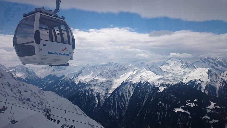 Das Silvretta Montafon Panorama sucht schon seines gleichen. Beautiful!