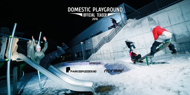 Domestic Playground – Official Trailer 2016
