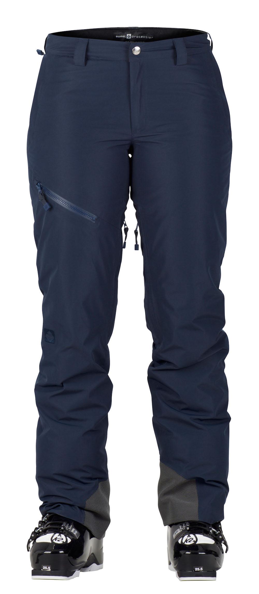 Die Diamond Pants in Midnight Blue.