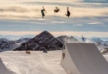 Swiss Freeski Team Triple Backflip