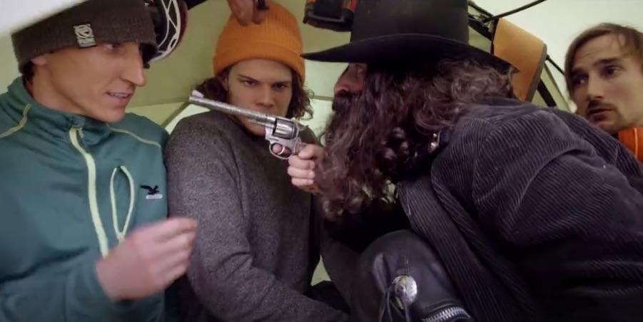 A mord's Sauhaufen in an z'kloan Zelt Official Trailer