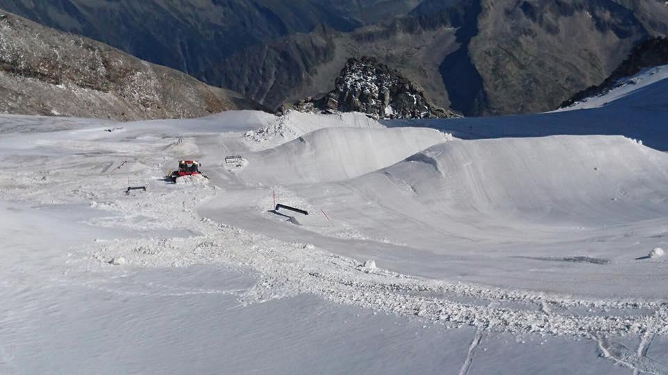 Der erste Snowpark in den Alpen öffnet morgen!