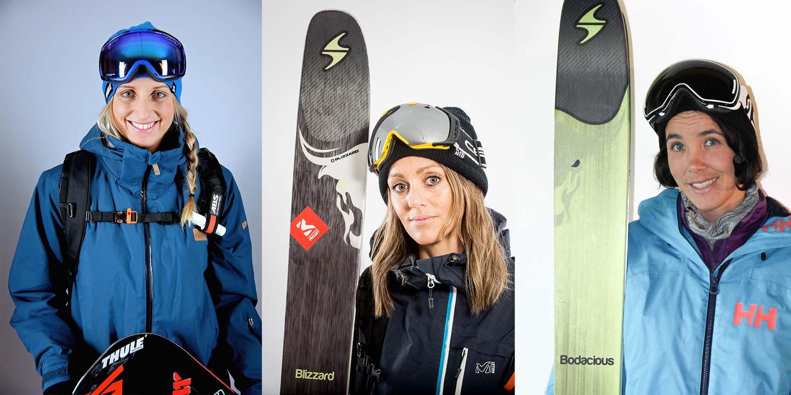 Aline Bock, Eva Walkner und Jackie Paaso (v.l.n.r.)