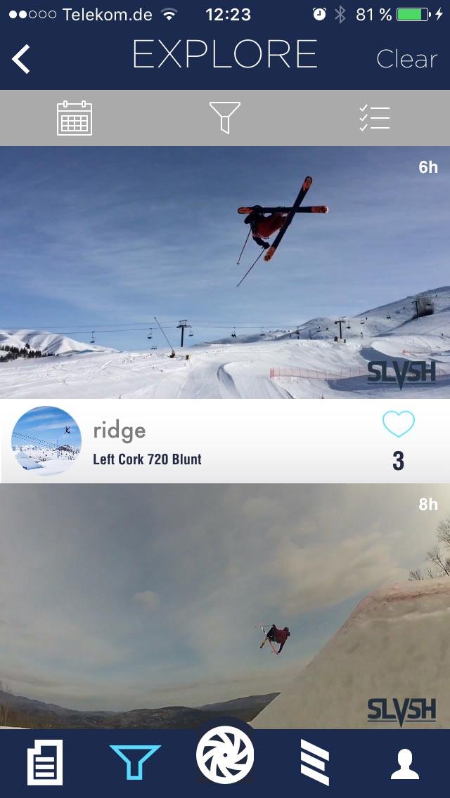 Guckt euch alle Videos zu einem bestimmten Trick von verschiedenen Fahrern an und nutzt weitere Filtermöglichkeiten.