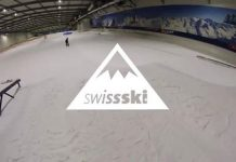 Das schweizer Nationalteam im Snowpark Bispingen