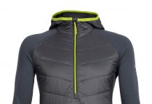 Icebreaker: Ellipse Long Sleeve Half Zip Hood